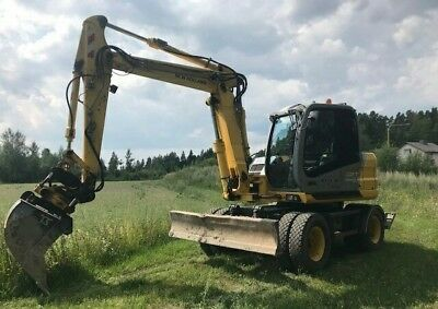 2007 New Holland MH 3.6 Wheel Loader Bought New First Owner