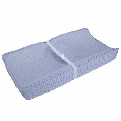 Serta Perfect Sleeper Deluxe Changing Pad Cover Soft Plush 16in X 32in Blue
