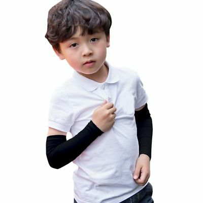 Kids Ice Silk Arm Cuff Sleeves UV Sun Protection Children Outdoor Sports Cycling