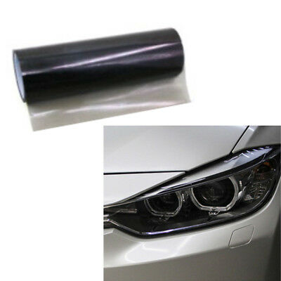 Universal Car Smoke Fog Light Headlight Taillight Tint Vinyl Film Sheet Sticker