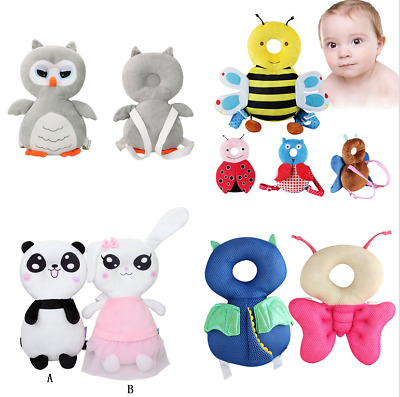 Baby Kids Walking Head Back Protection Protector Safety Pad Harness Pillow Pad