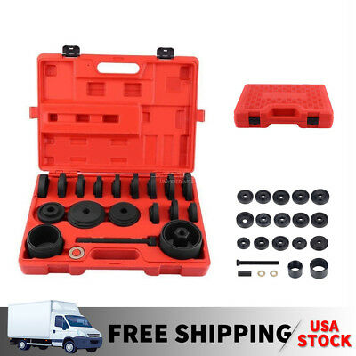 Set (23)  FWD Front Wheel Drive Bearing Adapters Puller Install Removal Tool Kit