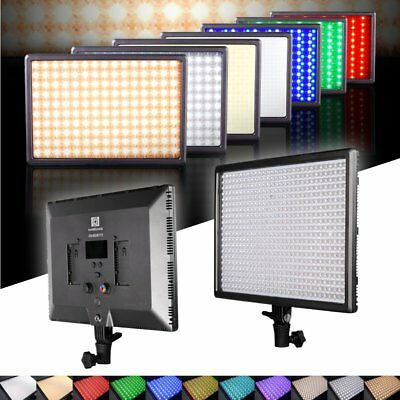 Nanguang RGB 173 II 3200~5600K Bi-color Multi Dimmer LED Studio Light for Photo