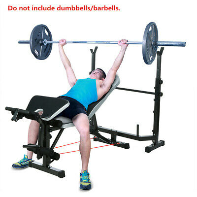 Weight Bench Set, Weight Dumbbell Bench, Home Gym Olympic Press Lifting Exercise