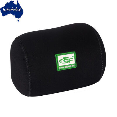 SF Neoprene Conventional Casting Reel Covers Round Baitcast Fishing Reel Cover M
