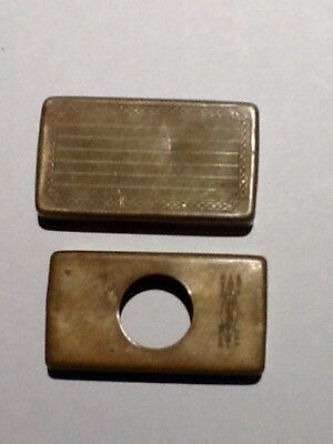 Vintage Gillette Safety Razor Blade Case.  Made in the USA.
