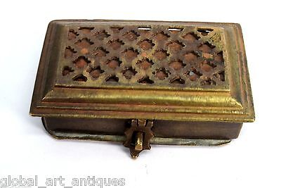 Indian Beautifully Hand Crafted Small Box Unique Jali Cut Design. G7-507 AU