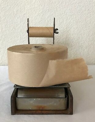 Vintage Package Store Industrial Tape Dispenser Antique Office Water Reservoir
