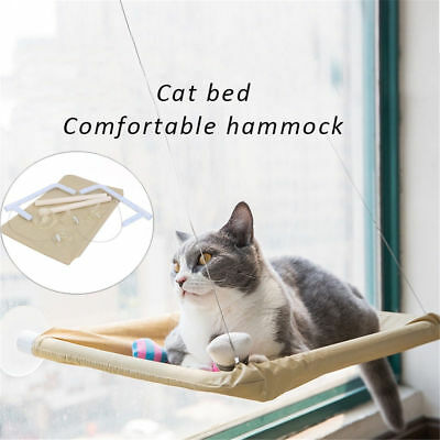 Cat Window Mounted Bed Sunny Seat Pets Wall Home Hammock Cover Washable 51x25cm