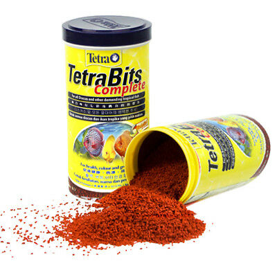 Aquarium Fish Tank TetraBits Germany Tetra Discus Granule Tropical Fish Food