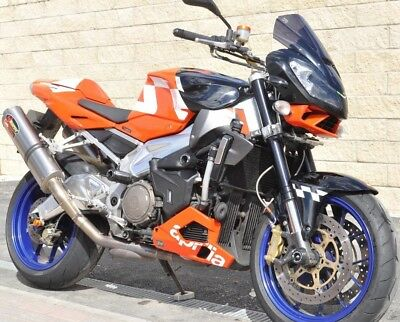 **STUNNING 2006 Aprilia Tuono V-Twin 1000 LOW MILES ONLY 15K PX CBR R1 1000 RR**