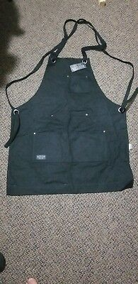 Lot of 2 Hudson Heavy Duty Waxed Canvas Work Apron with Tool Pockets NWT