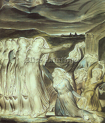 William Blake 9 Artist Painting Reproduction Handmade Oil Canvas Repro Art Deco