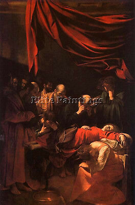 Caravaggio 29 Artist Painting Reproduction Handmade Oil Canvas Repro Art Deco