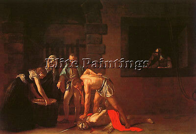 Caravaggio 35 Artist Painting Reproduction Handmade Oil Canvas Repro Art Deco