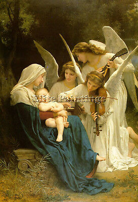 Bouguereau21 Artist Painting Reproduction Handmade Oil Canvas Repro Art Deco