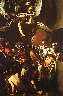 Caravaggio 30 Artist Painting Reproduction Handmade Oil Canvas Repro Art Deco