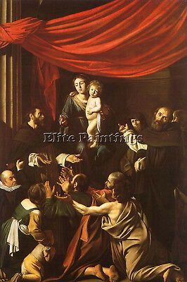 Caravaggio 31 Artist Painting Reproduction Handmade Oil Canvas Repro Art Deco