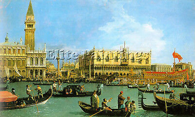 Canaletto4 Artist Painting Reproduction Handmade Oil Canvas Repro Wall Art Deco