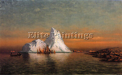 Bradford William Fishing Fleet Labrador Artist Painting Oil Canvas Repro Art