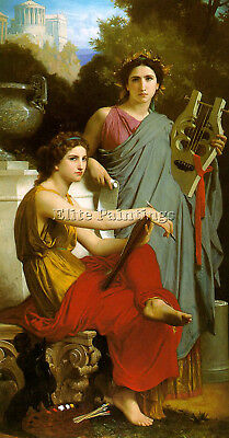 Bouguereau24 Artist Painting Reproduction Handmade Oil Canvas Repro Art Deco