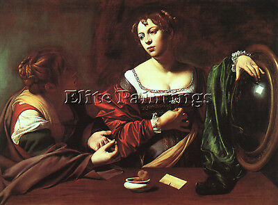 Caravaggio 13 Artist Painting Reproduction Handmade Oil Canvas Repro Art Deco