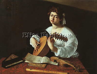 Caravaggio 19 Artist Painting Reproduction Handmade Oil Canvas Repro Art Deco