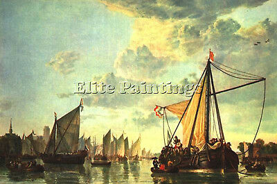 Cuyp Aelbert The Maas At Dordrecht Artist Painting Oil Canvas Repro Art Deco