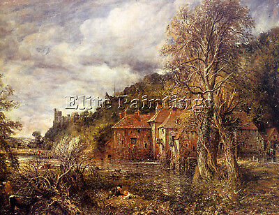 Constable18 Artist Painting Reproduction Handmade Oil Canvas Repro Wall Art Deco