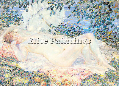 Frieseke2 Artist Painting Reproduction Handmade Oil Canvas Repro Wall Art Deco