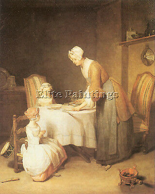 Chardin23 Artist Painting Reproduction Handmade Oil Canvas Repro Wall Art Deco