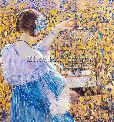 Frieseke11 Artist Painting Reproduction Handmade Oil Canvas Repro Wall Art Deco