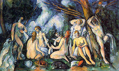 Cezanne19 Artist Painting Reproduction Handmade Oil Canvas Repro Wall Art Deco