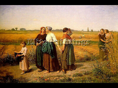 The Reapers Artist Painting Reproduction Handmade Oil Canvas Repro Wall Art Deco