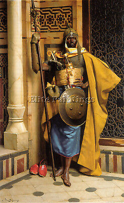 The Palace Guard Artist Painting Reproduction Handmade Oil Canvas Repro Art Deco