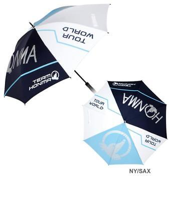 "Honma TW Golf Waterproof Tour World Umbrella - White/Blue/Navy 43"" Canopy"