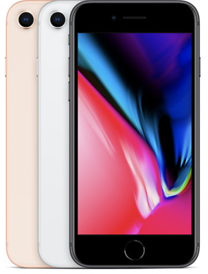 Apple iPhone 8 64 256 GB Silber Space Gray Grau Gold Red Rot Farbe wählbar
