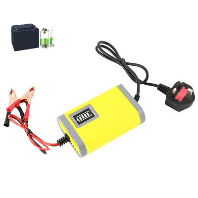 Intelligent 12V Motorcycle Motorbike Battery Charger Smart Trickle Lead