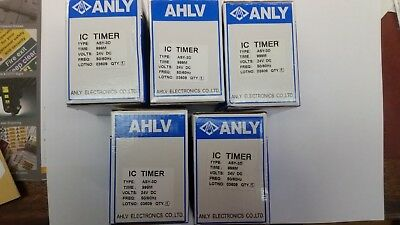 5-Off Digital Time Timer Relay ASY-3D  24V DC 1-999 Minutes