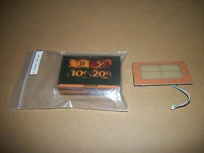 Igt S2000 New Touch Pad Kit/ 46 Denom Labels