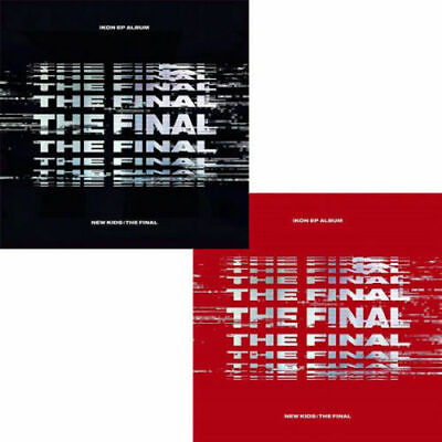 IKON [NEW KIDS:THE FINAL] EP Album RANDOM CD+Photo Book+P.Card+Sticker+F.Poster