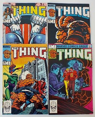 4 issues of The Thing - Issue # 2, 5, 6, 7 (1983) - Marvel Comics - VF (660)
