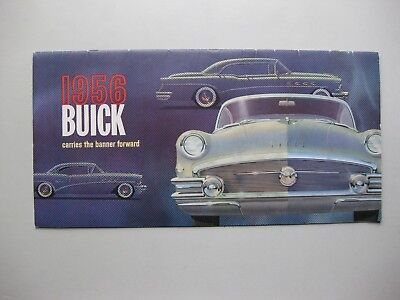 Buick range prestige brochure Prospekt English 1956 32 pages