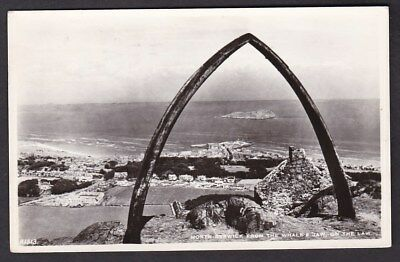 Scotland East Lothian NORTH BERWICK through whales jaw used 1960 RP PPC