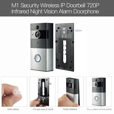 Smart Video Doorbell Wireless Home WIFI Security Camera With Indoor Chime TS