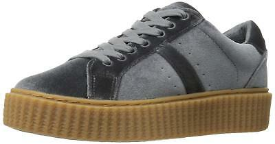 Indigo Rd. Womens Ircray Low Top Lace Up Fashion Sneakers, Light Gray, Size 8.5