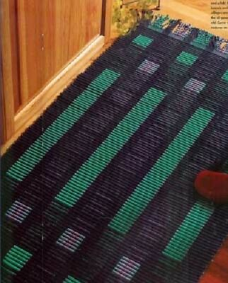 Handwoven magazine sept/oct 2003: rya, ripsmatta rug, towels, table runner, bath