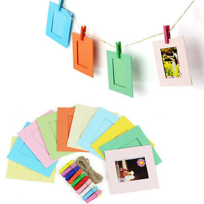 Colorful Hanging Frames for Fujifilm INSTAX MINI 7S/8/ 9/25/50 /90 SP-1 film