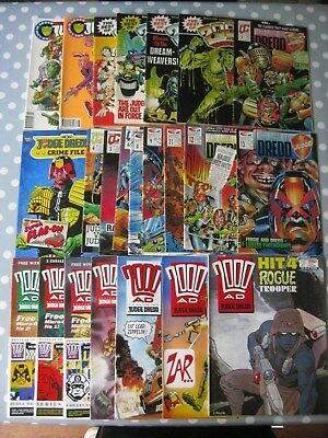 JUDGE DREDD/2000AD Job Lot Of 23 Comics: Law Of Dredd/Best Of/Complete/etc.