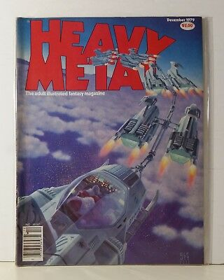 Heavy Metal Magazine Volume 3 #8 December 1979 Moebius Corben Stiles Caza Heller